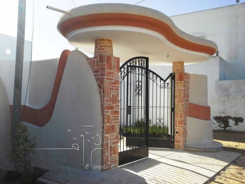Cloture maison moderne tunisienne