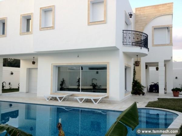 De Haute Qualite Decoration Exterieur Villa En Tunisie