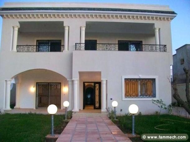 Bon Decoration Exterieur Villa En Tunisie