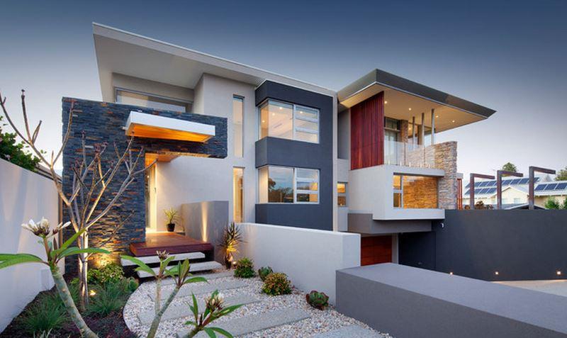 decoration exterieur villa moderne - le spécialiste de la décoration ...