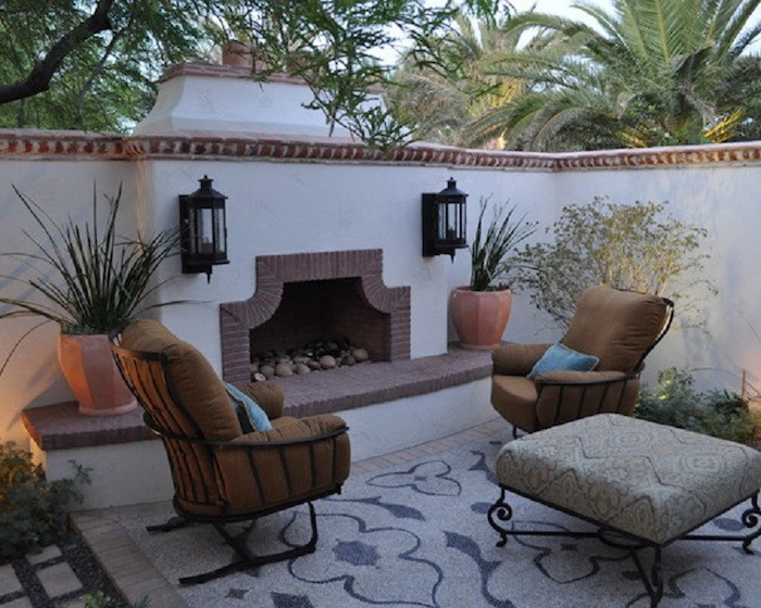 decoration terrasse andalouse