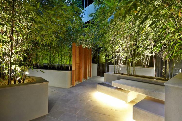 decoration terrasse bambou