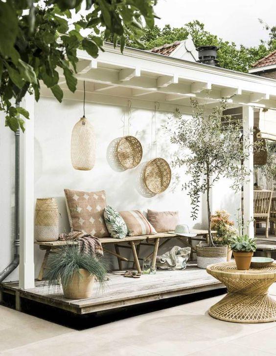 decoration terrasse boheme - le spécialiste de la décoration extérieur