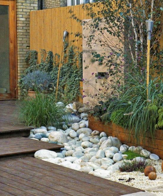 decoration terrasse cailloux - le spécialiste de la ...