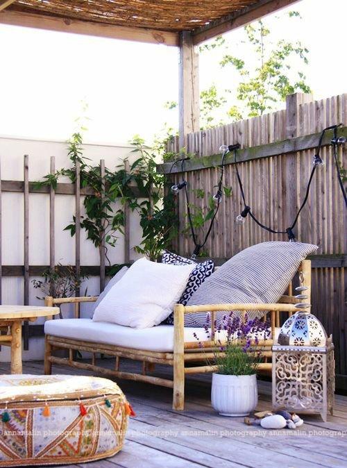 decoration terrasse chic