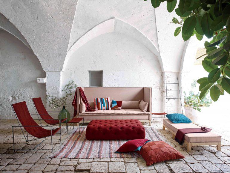 decoration terrasse coloree