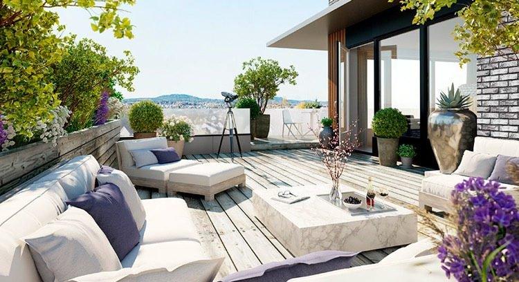 decoration terrasse d'appartement