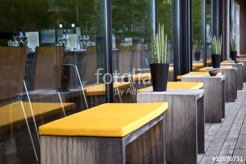 decoration terrasse de restaurant