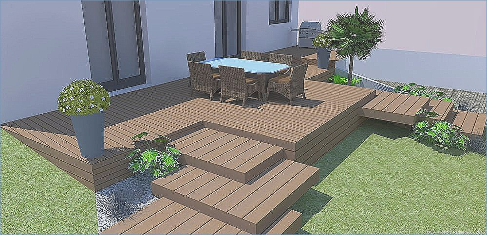 decoration terrasse en teck