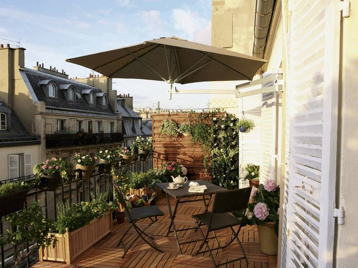 decoration terrasse et balcon