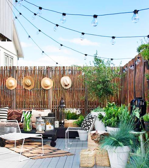 decoration terrasse ete