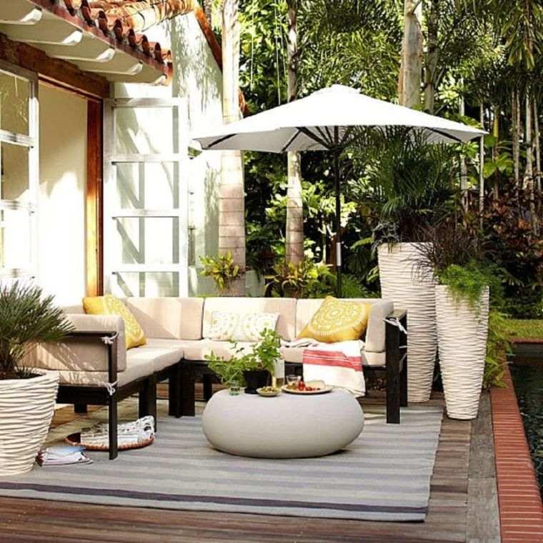 decoration terrasse exterieur pas cher