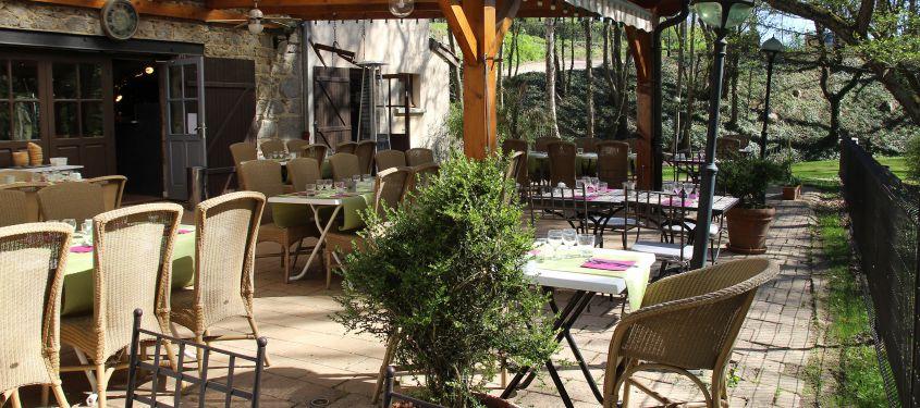 decoration terrasse exterieur restaurant
