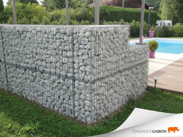 Decoration Terrasse Gabion Le Specialiste De La Decoration Exterieur