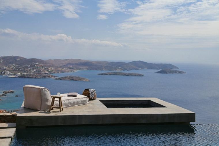 decoration terrasse grecque