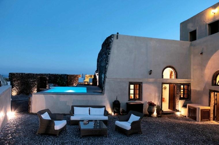 decoration terrasse grecque - le spécialiste de la décoration extérieur