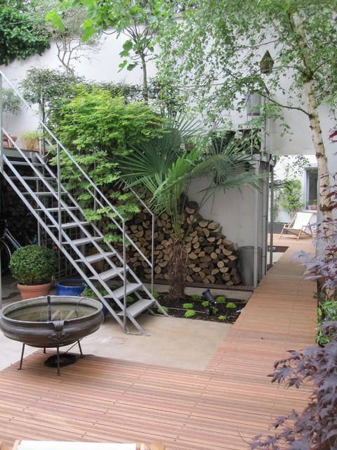 decoration terrasse industrielle