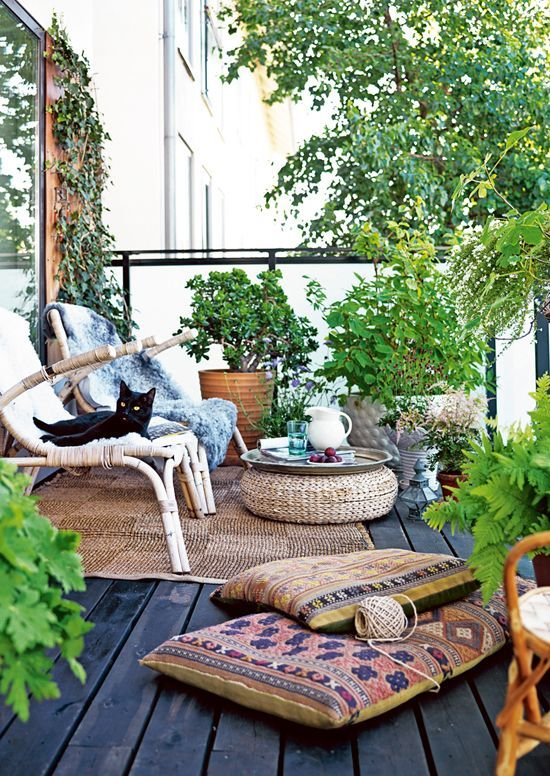 decoration terrasse nature