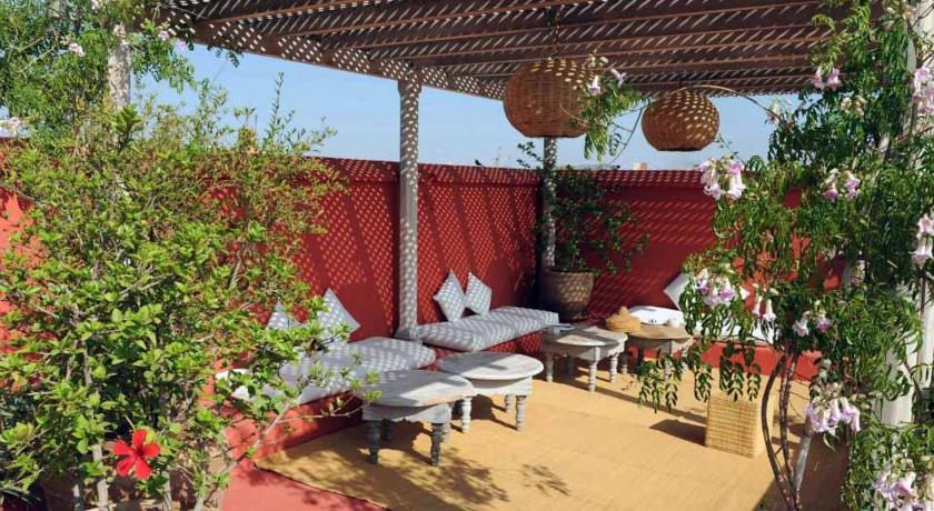 Jardin Marocain Terrasse