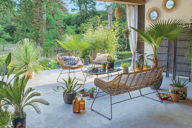 decoration terrasse ouverte