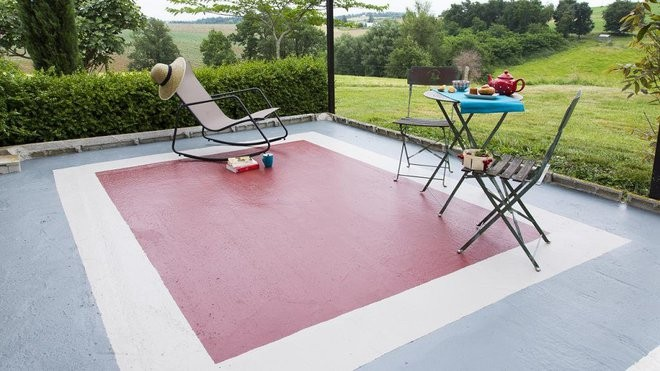 decoration terrasse peinture
