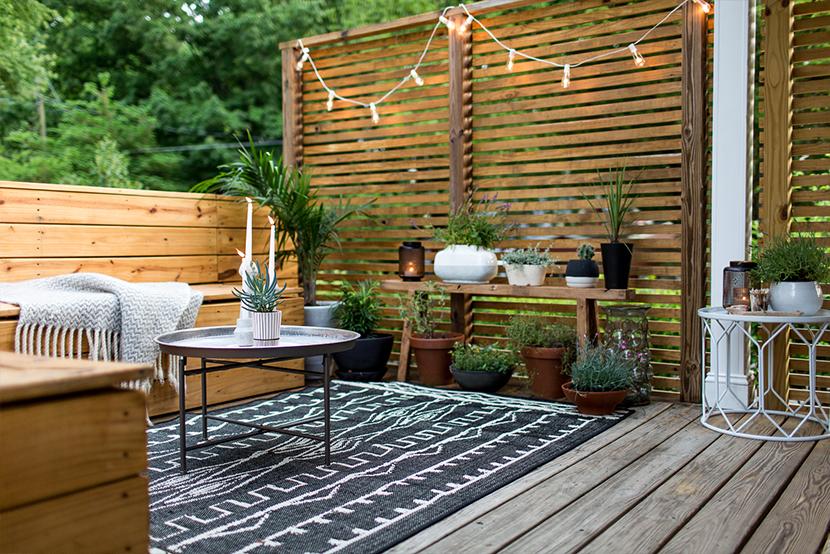 decoration terrasse petite surface