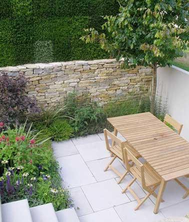 decoration terrasse pierre