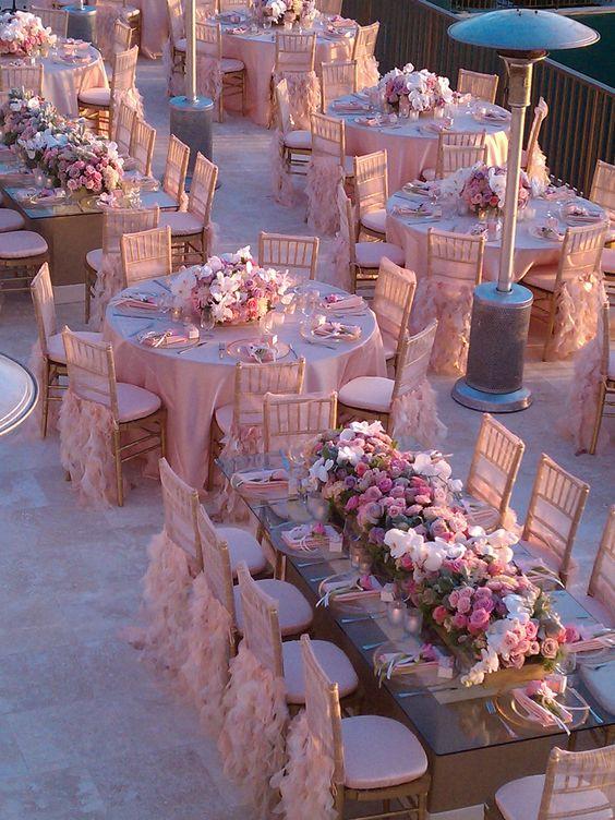 decoration terrasse pour mariage