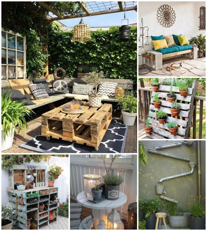 decoration terrasse recup - le spécialiste de la décoration extérieur