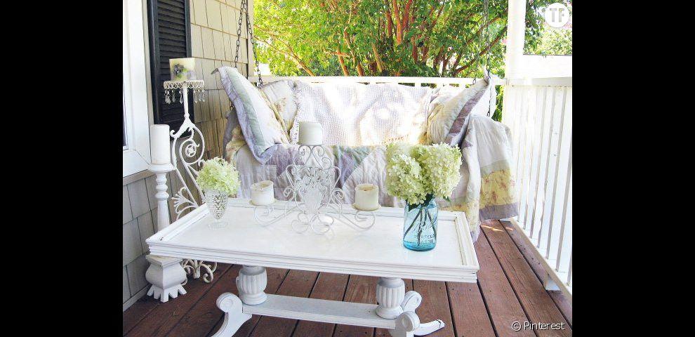 decoration terrasse romantique