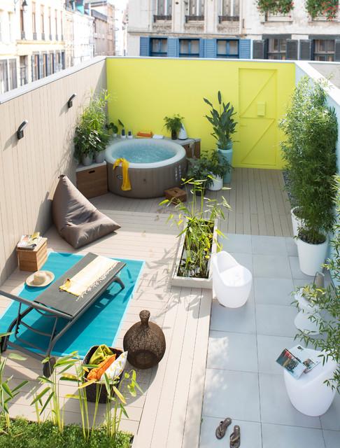 decoration terrasse spa