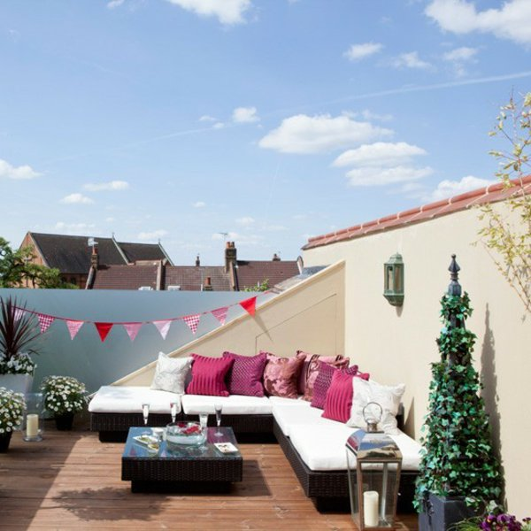 decoration terrasse toit