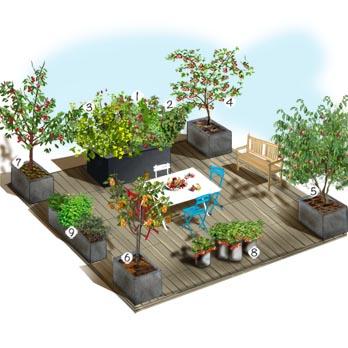 decoration terrasse truffaut