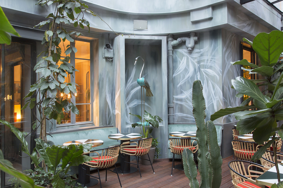 decoration terrasse verdure
