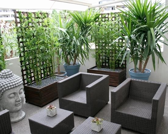 decoration terrasse zen