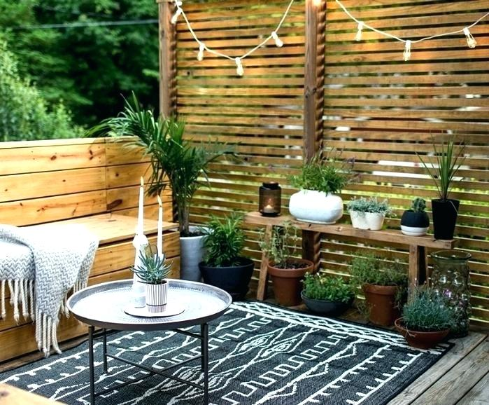 decoration terrasse zen