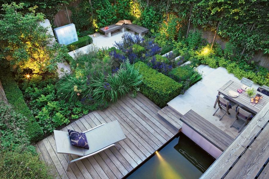 idee jardin 80m2 - le spécialiste de la décoration extérieur