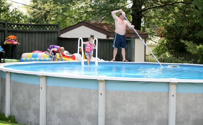 idee jardin avec piscine hors sol - le spécialiste de la décoration ...