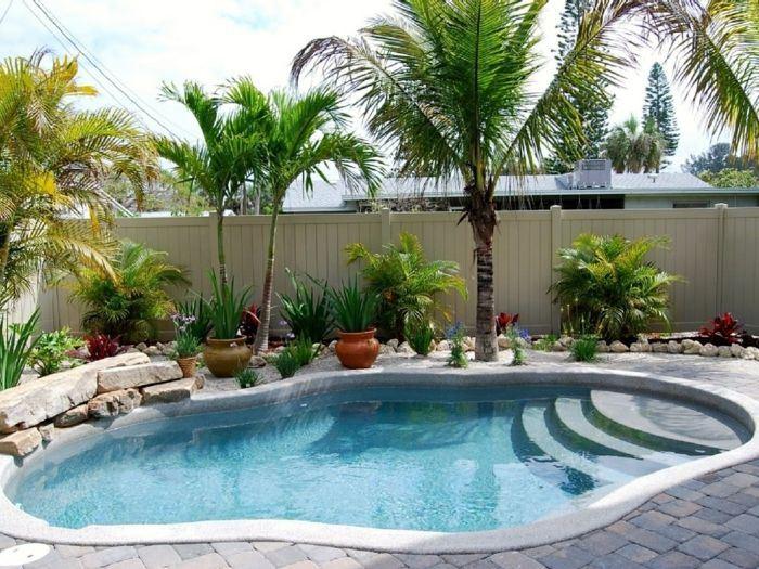 idee jardin avec piscine - le spécialiste de la décoration extérieur