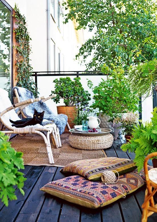 idee jardin boheme