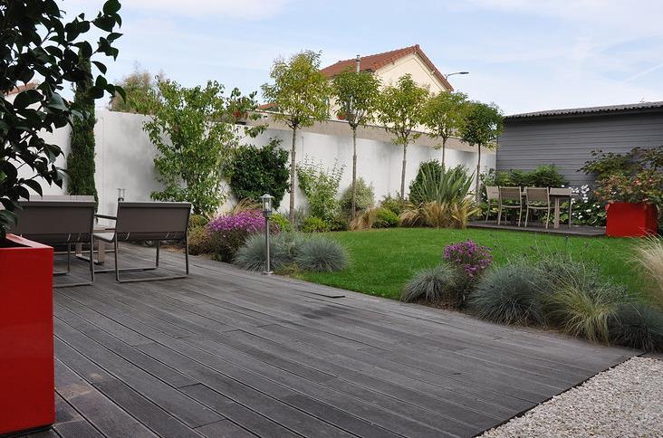 idee jardin contemporain - le spécialiste de la décoration ...