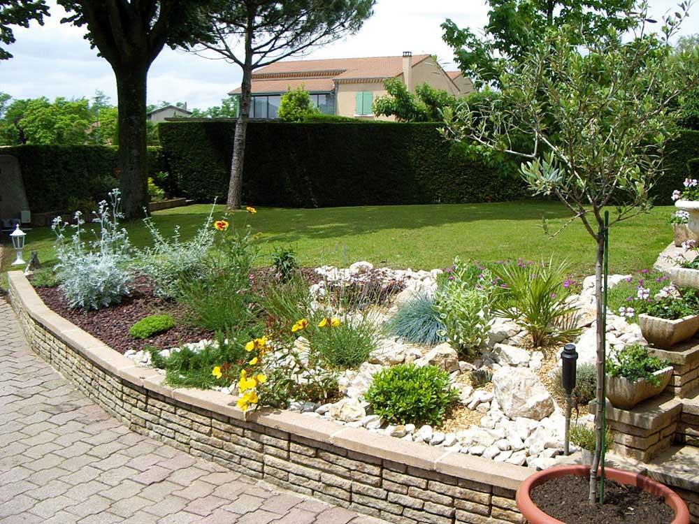 idee jardin de rocaille - le spécialiste de la décoration extérieur