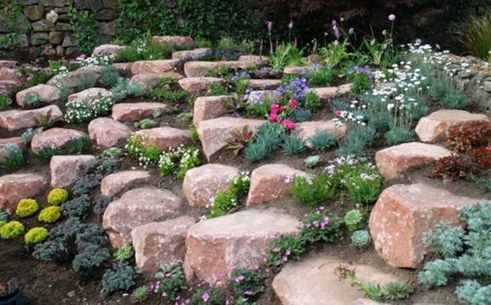 idee jardin de rocaille - le spécialiste de la décoration ...