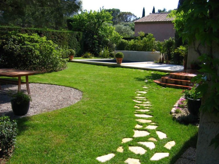 idee jardin devant maison