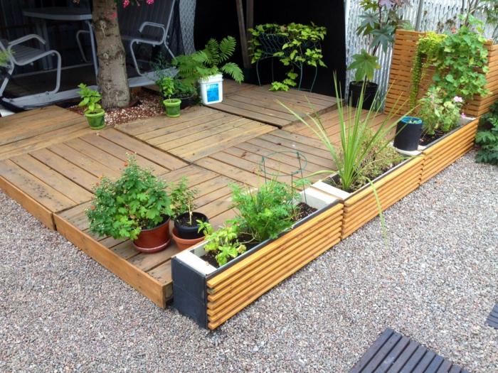 idee jardin en palette - le spécialiste de la décoration ...