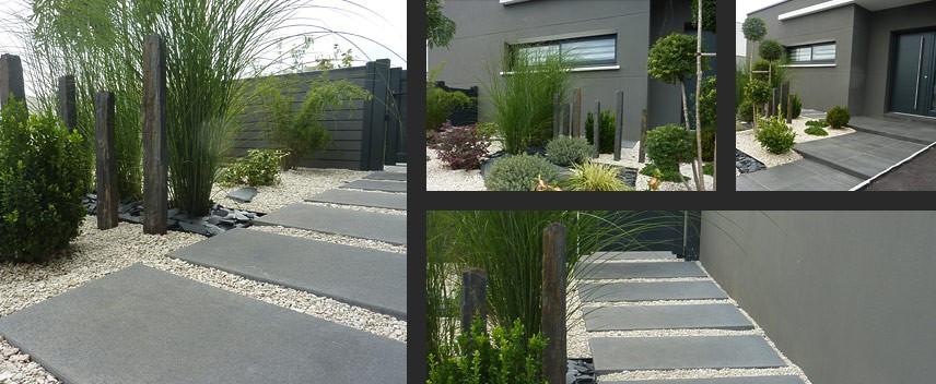 idee jardin entree maison - le spécialiste de la décoration extérieur