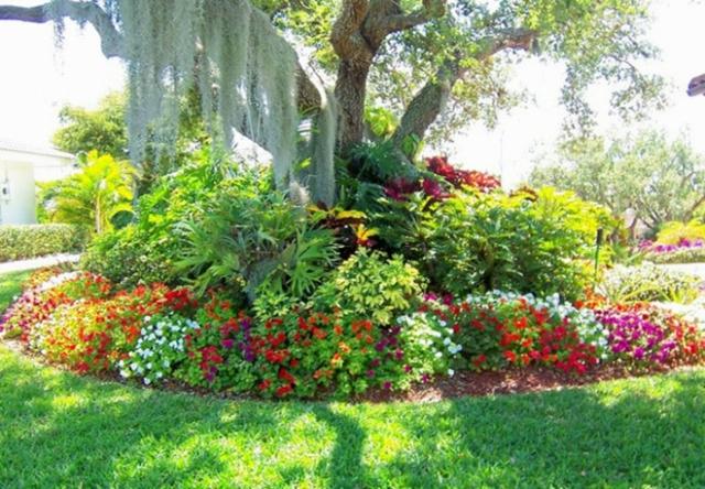 idee jardin fleuri - le spécialiste de la décoration extérieur
