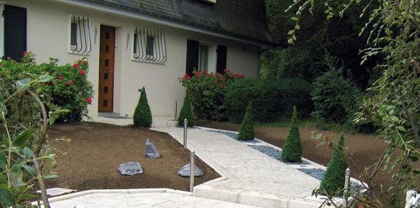Awesome Idee Jardin Entree Maison Photos - House Interior ...