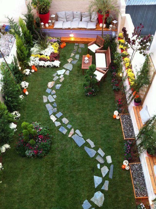 idee jardin maison
