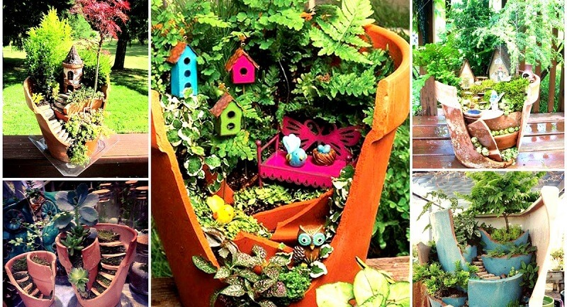 idee jardin recyclage - le spécialiste de la décoration extérieur